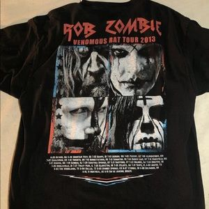 Hanes Shirts - Rob Zombie 2013 Tour Band T shirt Size XL